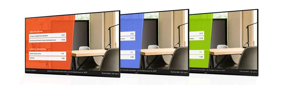 personalizacion tv señalizacion wayfinding